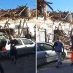 Stravični prizori nakon zemljotresa, na ulicama ruševine u Petrinji