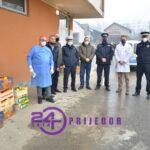 """PU Prijedor: Donacija """"Covid"""" bolnici u Prijedoru"""