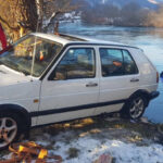 Automobilom sletjeli u rijeku