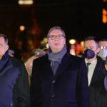 Vučić: Hvala Dodiku na podršci, Srpska i Srbija jedinstveno djeluju