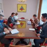 Gradonačelnik Pavlović i predsjednik Skupštine Duratović razgovarali sa šefom EU u Banjaluci Stefanom Donatijem (FOTO)