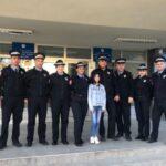 Mlada glumica Biljana Čekić se družila sa banjalučkim policajcima