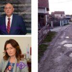 Kako je DNS u Prijedoru UKRAO asfalt; Jedinstven slučaj u Prijedoru: Mještani tvrde da im je ukraden asfalt (FOTO)