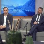 Gradonačelnik Prijedora Dalibor Pavlović i predsjednik opštine Inđija Vladimir Gak na RTRS-u (VIDEO)