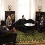 Cvijanović, Dodik i Višković na prijemu kod patrijarha (FOTO)