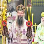 """""""Ne postoji ništa naše, a da nije pravoslavno"""" Patrijarh Porfirije služio liturgiju u Crkvi Svetog Marka u Beogradu"""