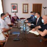 Gradonačelnik i predsjednik Skupštine grada razgovarali sa federalnim ministrom raseljnih osoba i izbjeglica o nastavku saradnje (FOTO)