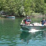 Vatrogasci održali vježbu na jezeru u Tomašici (VIDEO)