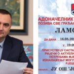 Od ponedjeljka gradonačelnik Pavlović u posjeti mjesnim zajednicama, prva Lamovita