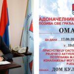Sutra gradonačelnik Pavlović u posjeti Mjesnoj zajednici Omarska