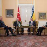 Erdogan u Sarajevu, sastanak sa članovima Predsjedništva BiH (FOTO)