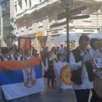 Marš na Drinu se ori Knez Mihailovom (VIDEO)