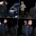 Srbi stali pred pripadnike ROSU, pa poručili - Crni sinovi, jeste li pozdravili kući? Ima majke da vam kukaju (VIDEO)