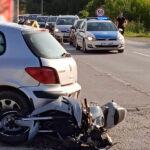 U sudaru teško povrijeđen motociklista