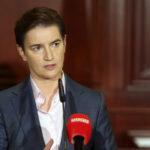 Ana Brnabić: Pozivam međunarodnu zajednicu, NATO i KFOR, da hitno reaguju i zauzdaju Aljbina Kurtija