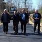 Gradonačelnik Prijedora obišao radove na asfaltiranju lokalnog puta Miljakovci-Rakelići