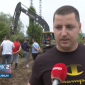 Gomjenica: Mještani prave nasip (VIDEO)